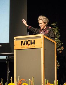 Dr Temple Grandin ved MCH